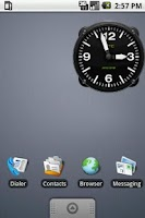 Screenshot of Hero Clock 6 Widget 2x2