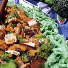 Broccoli With Five-Spice Tofu