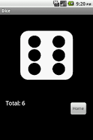 Screenshot of Dice (Free)