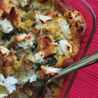 Egg Strata With Artichokes Recipes