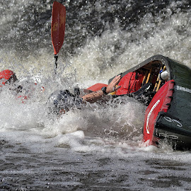 Into the Drink by Kevin Ward - Sports & Fitness Watersports