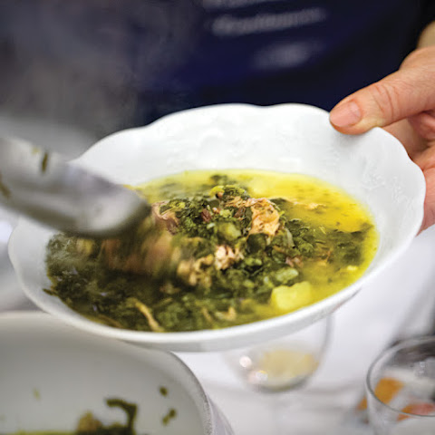 Garbure Gersoise (Cabbage and White Bean Soup with Duck Confit)