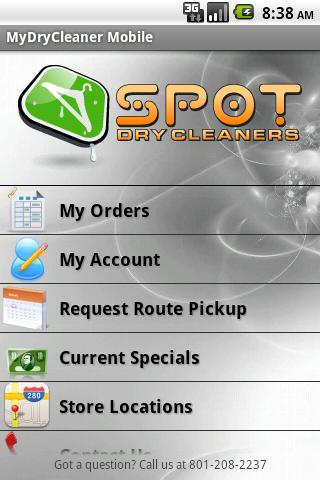 MyDryCleaner Mobile