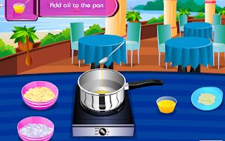 Screenshot of Crazy chef – Sesame Tuna