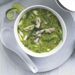 Thai Green Curry Chicken Coconut Soup Recipes