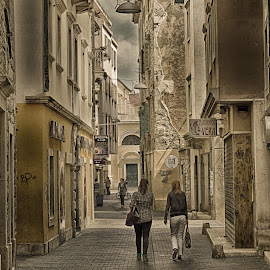 City ​​walk by Dubravka Polonijo Juriša - City,  Street & Park  Street Scenes ( street life, streetscape, street, streets, street scene, people, street photo, city,  )