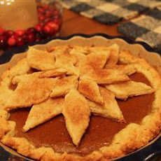 Pumpkin and Maple Syrup Pie