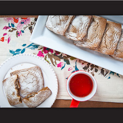 Gingerbread Toaster Pastries with Bourbon Pear Filling
