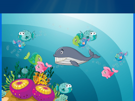 Screenshot of Kids Ocean Fish Scratch Game