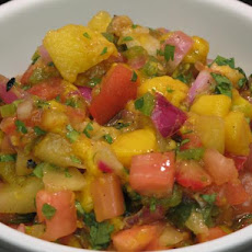 Fruit Salsa With Pineapple and Mango