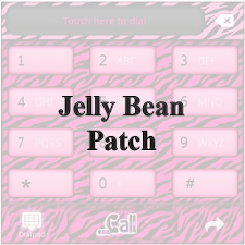 JB PATCH|HotPinkZebra2