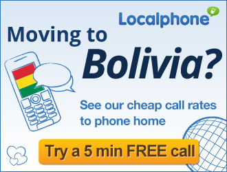 Localphone, moving to bolivia, cheap international calls