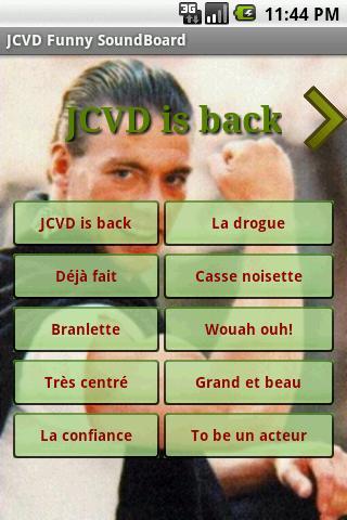 JCVD Funny Soundboard