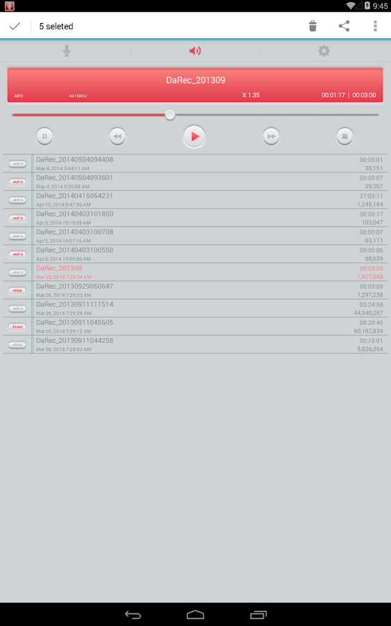 High Quality Voice Recorder Screenshot 12