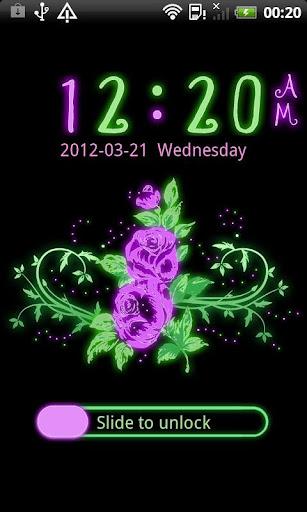 GO Locker Glowing Flowers