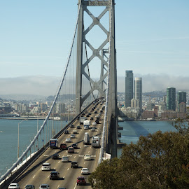 San Francisco bridge by Rousselle Ria - Buildings & Architecture Bridges & Suspended Structures ( bridge )