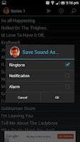 Screenshot of Alan Partridge Soundboard