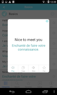 French Translation with Audio - screenshot