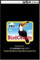 Screenshot of Bird Countz Pro