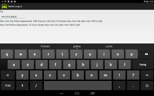 Traffic Info and Traffic Alert - screenshot
