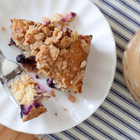 Blueberry-Spice Coffee Cake Rezept | Yummly