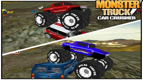 Monster Truck Car Crusher - screenshot