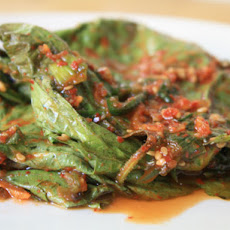 Marinated Perilla Leaves