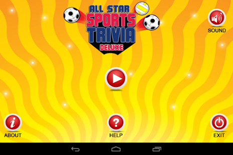 All-Star Sports Trivia Deluxe - screenshot