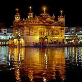 Golden Temple by KP Singh - Buildings & Architecture Places of Worship ( religion, golden temple, sikh, punjab, amritsar )