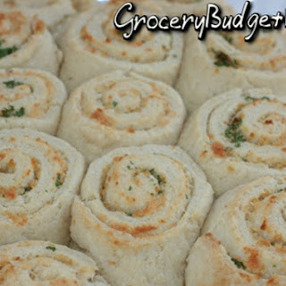 Garlic Parmesan Swirl Biscuits