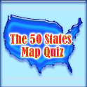 50 States Map Quiz icon