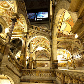 by Wendy Milne - Buildings & Architecture Public & Historical ( scotland, staircase, glasgow, architecture, city chambers )