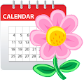 Woman diary (calendar) for Lollipop - Android 5.0