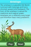 Screenshot of A-Z Animals Book