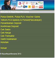 Screenshot of Topup Pulsa & Pembayaran