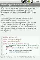Screenshot of Android App Development