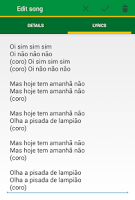 Screenshot of Capoeira Tunes