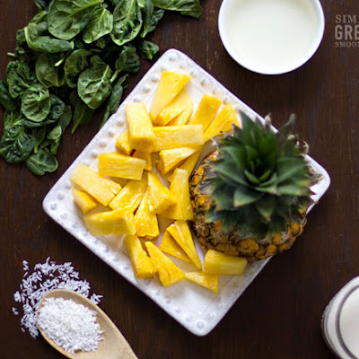 Piña Colada Green Smoothie