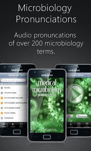 【免費醫療App】Microbiology Pronunciations-APP點子