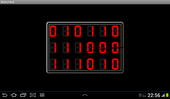 Screenshot of Binary Clock C.P.S.