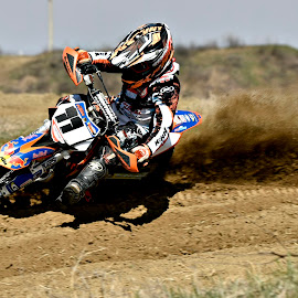 The Kid by Dragos Vana - Sports & Fitness Motorsports ( motocross, speed, dust, motorcycle )