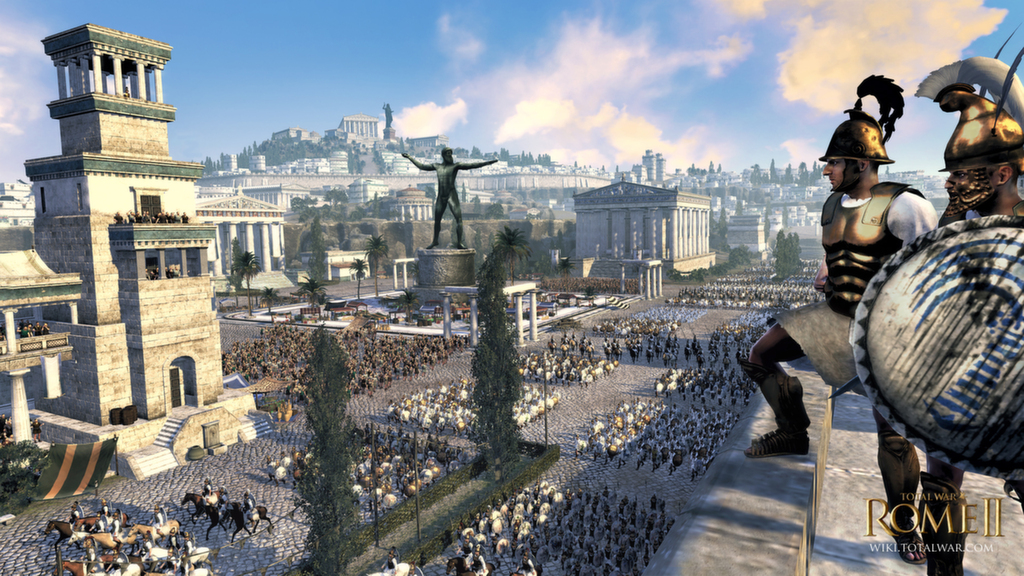 Patch 2 released today for Total War: Rome II
