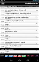 Screenshot of Program nc+