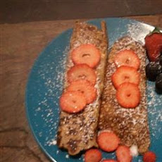 Low Carb Pancake Crepes