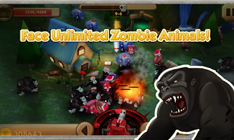 Screenshot of Mad Animals 3D