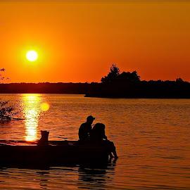 In Loving Color by Wally VanSlyke - Landscapes Sunsets & Sunrises