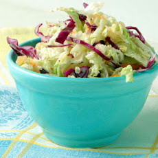 Cabbage and Celery Root Slaw