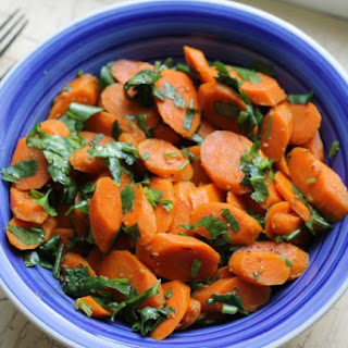 Tunisian Carrot Salad