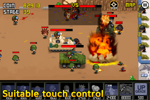 Screenshot of Army Wars Friends
