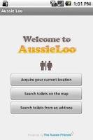 Screenshot of Aussie Loo